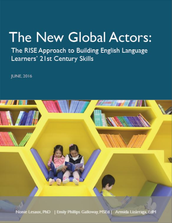 Cover of The New Global Actors